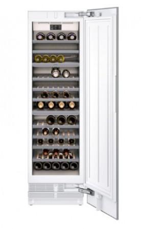 Gaggenau Vario Weinklimaschrank Serie 400 Voll integrierbar, mit Volltür Nischenbreite 61 cm, Nischenhöhe 213.4 cm RW466304