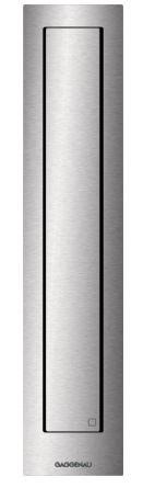 Gaggenau Muldenlüftung Serie 400 Mit Rahmen für flächenbündigen Einbau, Breite 11 cm, Abluft-/ Umluftbetrieb Zur Kombination innerhalb der Sets CVL 410 und CVL 420  VL410111