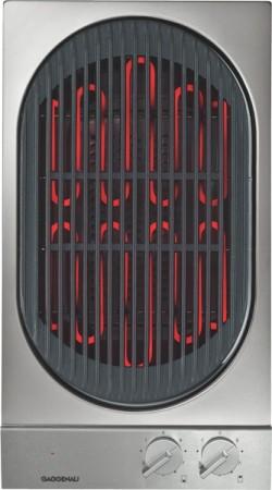 Gaggenau Vario Elektro-Grill VR230114 Edelstahl-Bedienblende