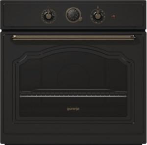 Gorenje Einbaubackofen matt-schwarz BO73CLB EEK: A