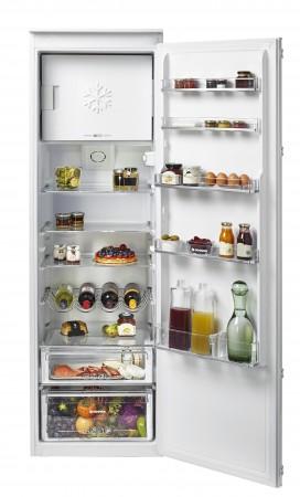 Hoover Einbau Kühlschrank mit Gefrierfach HBOD 174/N