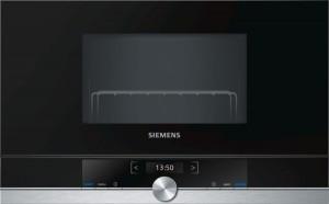 Siemens Einbaumikrowelle Edelstahl BF634LGS1