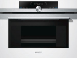 Siemens Kompaktdampfgarer Weiß CD634GBW1