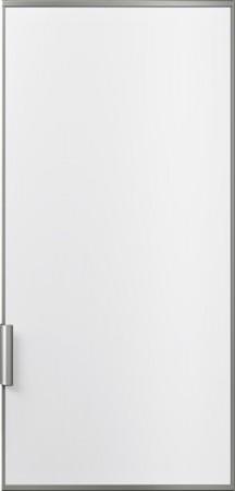 Siemens weiße Türfront mit Dekorramen und Griff aus Aluminium KF40ZAX0