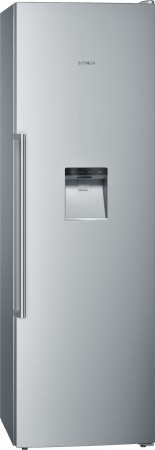 Siemens Stand Gefrierschrank noFrost iQ500 Edelstahl antiFingerPrint GS36DBI2V
