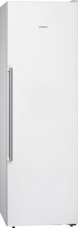 Siemens Stand Gefrierschrank noFrost iQ500 weiß GS36NAW3P