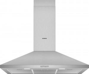 Siemens Wand-Esse Walmdach-Design 90 cm Edelstahl iQ100 LC94PBC50