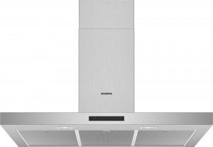 Siemens Wand-Esse Box-Design 90 cm Edelstahl iQ300 LC96BBM50