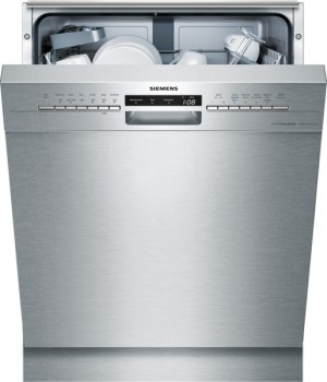 Siemens Geschirrspüler Extraklasse speedMatic Unterbau Edelstahl inkl. Sockelblech SN436S02ID