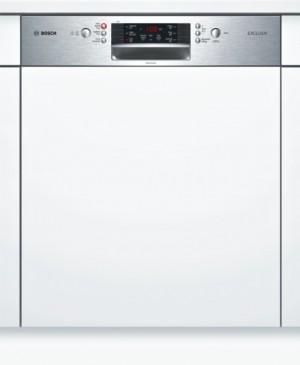 Bosch Geschirrspüler SuperSilence Edelstahl SMI46MS00D