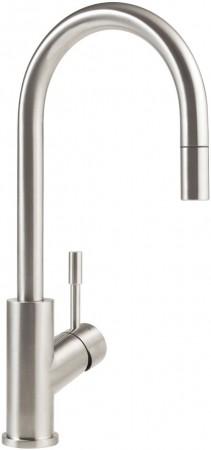 Villeroy & Boch Armatur Umbrella Flex Hochdruck Edelstahl massiv 925400LC
