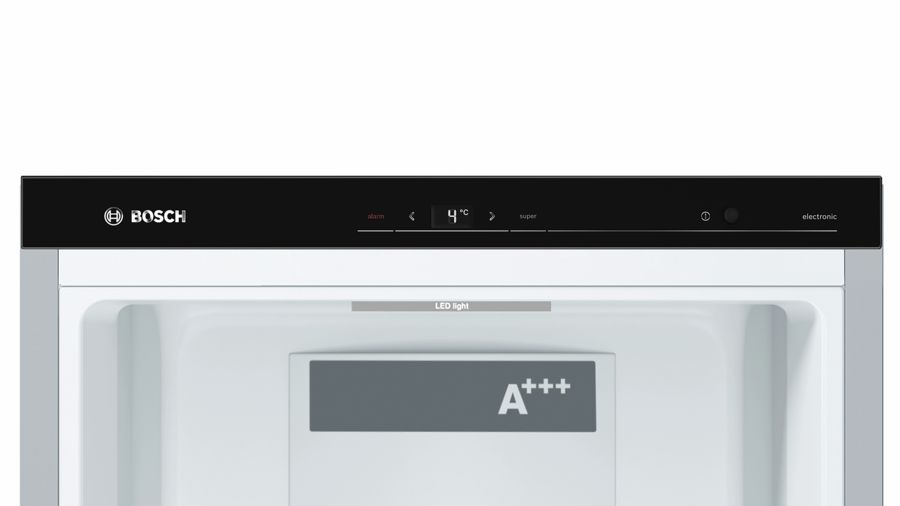 Kühlschrank Edelstahl : Bosch stand kühlschrank türen edelstahl mit anti fingerprint
