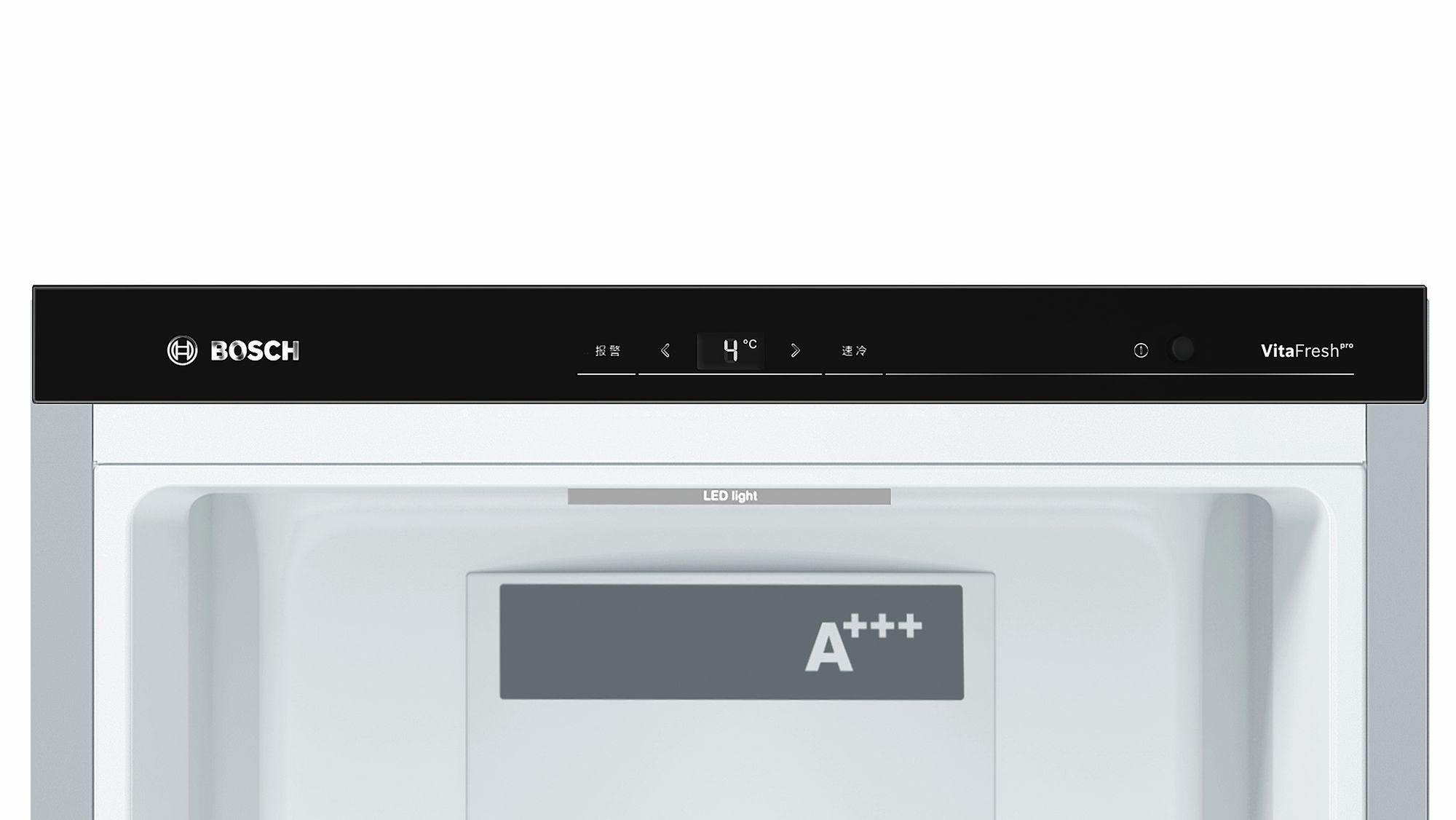 Perfekt Bosch Stand Kühlschrank Türen Edelstahl Mit Anti Fingerprint KSF36PI4P