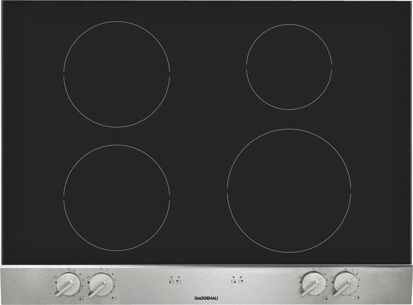 gaggenau vario induktions kochfeld vi270114 edelstahl. Black Bedroom Furniture Sets. Home Design Ideas