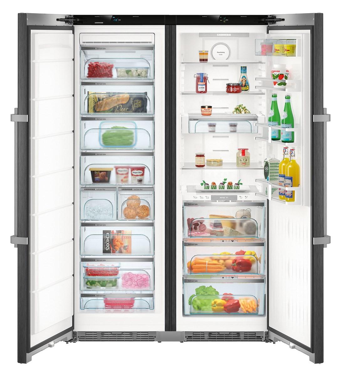 Liebherr Side by Side Kühlschrank Premium mit BioFresh und NoFrost ...