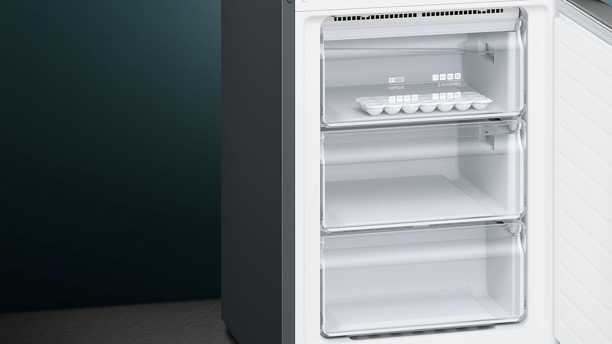 Siemens Kühlschrank Edelstahl : Siemens kühl gefrier kombination edelstahl antifingerprint