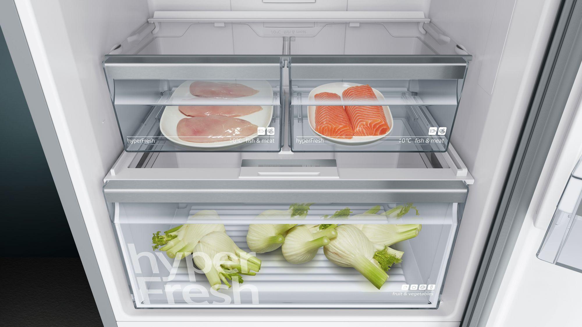 Siemens Kühlschrank No Frost : Siemens iq300 kühl gefrier kombination türen edelstahl nofrost